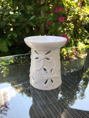 Dragonfly Ceramic Wax Warmer - Scented Soy Wax Melts | Wax Melt Warmers - MadisonMelts