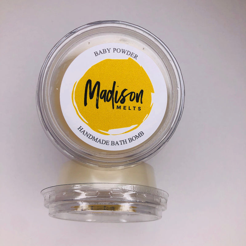 Baby Powder Soy Wax Melt Pot - Scented Soy Wax Melts | Wax Melt Warmers - MadisonMelts