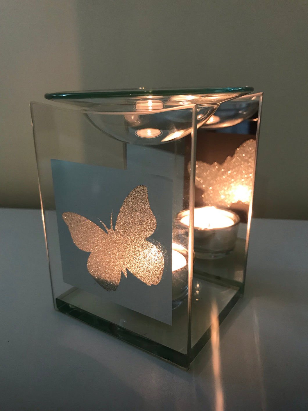 Glitter Butterfly Wax Warmer