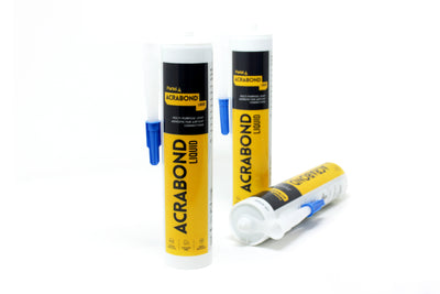 ACRABOND ADHESIVE FOR AIRTIGHT CONNECTIONS