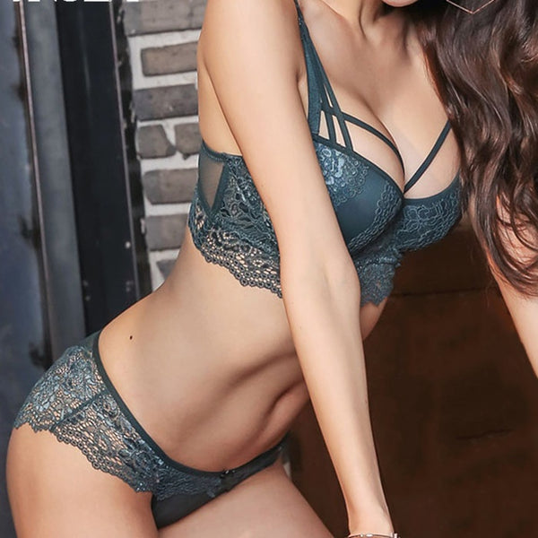 Elegant and Sexy Lace Lingerie Set