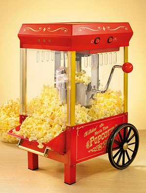 Old Fashioned Movie Time Kettle Popcorn Cart
