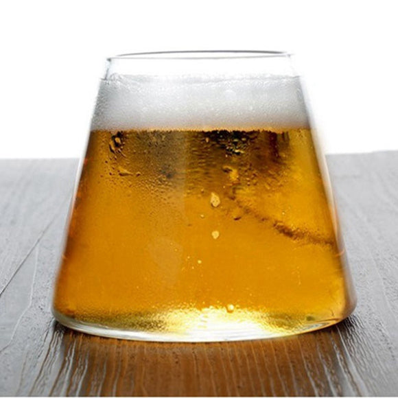 New 9.4oz. Beer Wine Cup High Temperature Glass Beverage Juice Cup  Bar Cup Coffee Milk Mug