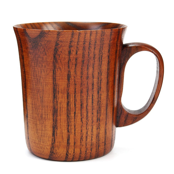 Beer Drinkware Cup Travel Handmade Wooden Cup Primitive Drinking Cup Natural Tea Coffee  Kitchen Gift