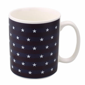 New American Flag Mug Magic Color Changing Porcelain US Banner Milk Mugs Water Coffee Tea Beer Cup Home Office Bar Drinking Tool