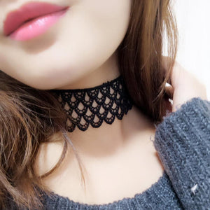 New Lace  Women coller choker necklace