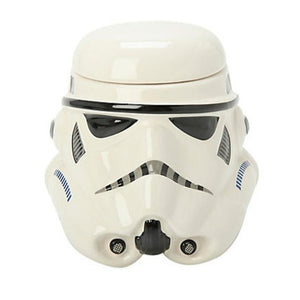 Classic Mug Stormtrooper Darth Vader Helmet Mug 3d Ceramic Water Tea Coffee Drinks Cup With Lid Handgrip Drinkware