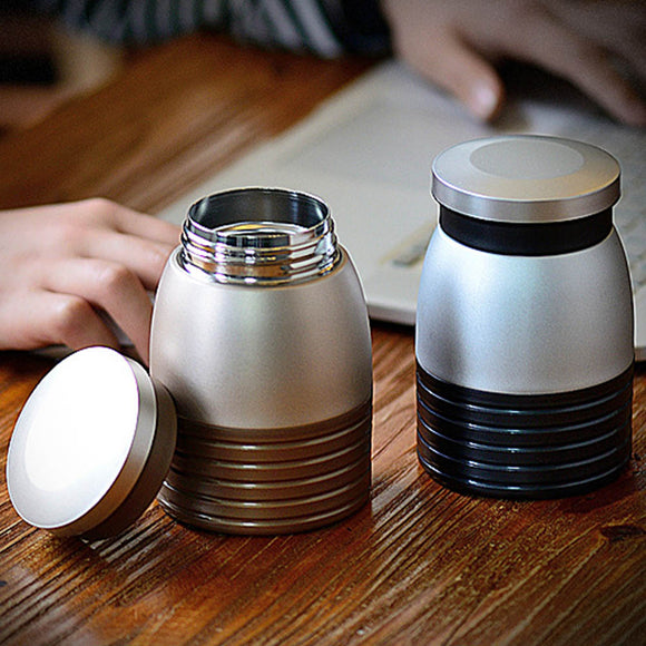 9.5oz. Portable Stainless Steel Thermos Mug Vacuum Cup Travel Flask Food Bottle Coffee Tea Water