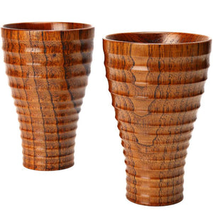 Wild Wooden Cups Jujube Wood Cafe Bar Drinkware Coffee Beer Milk Cup Juice Water Mugs Lovers Cup Gift High Quality Wood