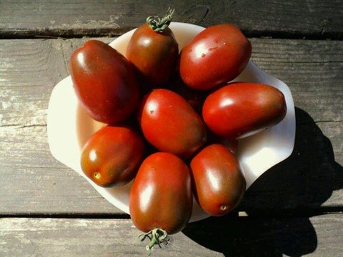 Black Plum Tomato - Heirloom!