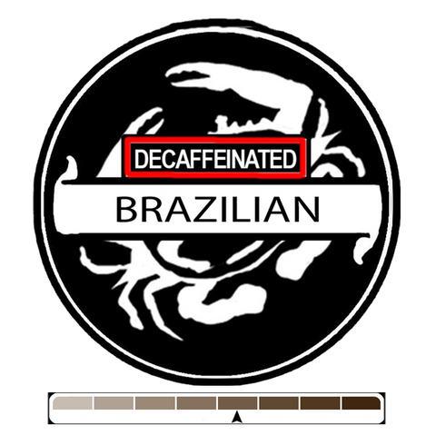 Decaffeinated Brazil, 1 lb (16 oz)