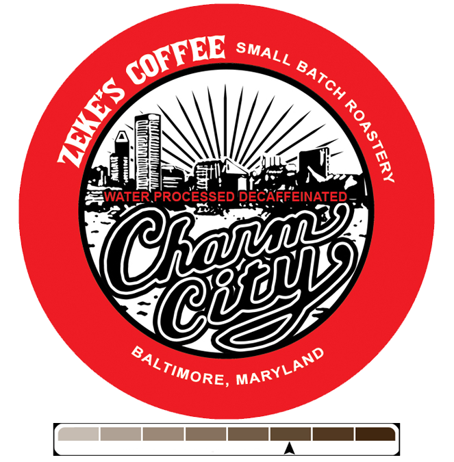 Decaf Charm City Blend (Z-cups)