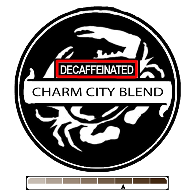 Decaffeinated Charm City, 1 lb (16 oz)
