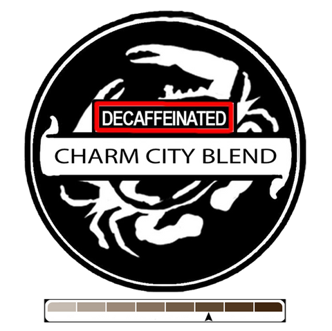 Decaffeinated Charm City Blend, 1 lb (16 oz)