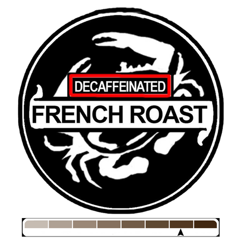 Decaffeinated French Roast, 1 lb (16 oz)
