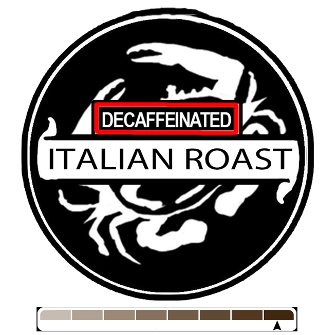 Decaffeinated Italian, 1 lb (16 oz)