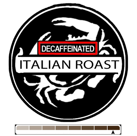 Decaffeinated Italian Roast, 1 lb (16 oz)