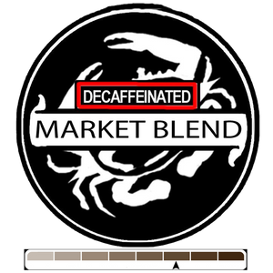 Decaffeinated Market Blend, 1 lb (16 oz)