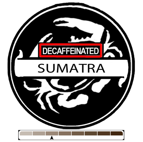 Decaffeinated Sumatra, 1 lb (16 oz)
