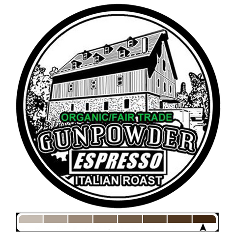 Gunpowder Espresso, 1 lb (16 oz)