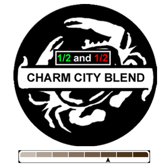 1/2 and 1/2 Charm City, 1 lb (16 oz)