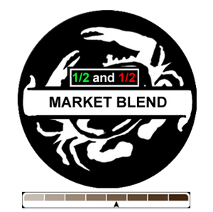 1/2 and 1/2 Market Blend, 1 lb (16 oz)
