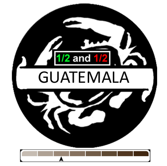 1/2 and 1/2 Guatemala, 1 lb (16 oz)