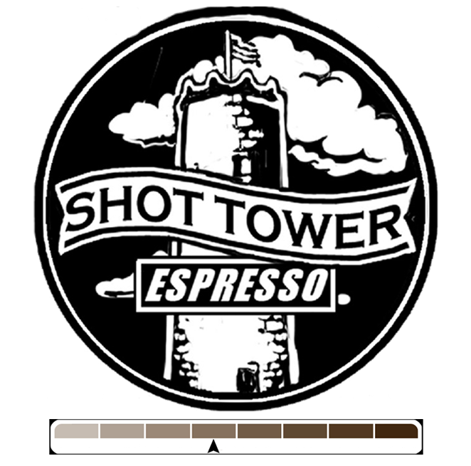 Shot Tower Espresso, 1 lb (16 oz)