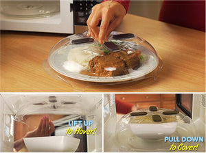 The Magnetic Hover Top Microwave Cover