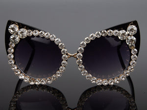 Luxurious Vintage Cat Eye Sunglasses