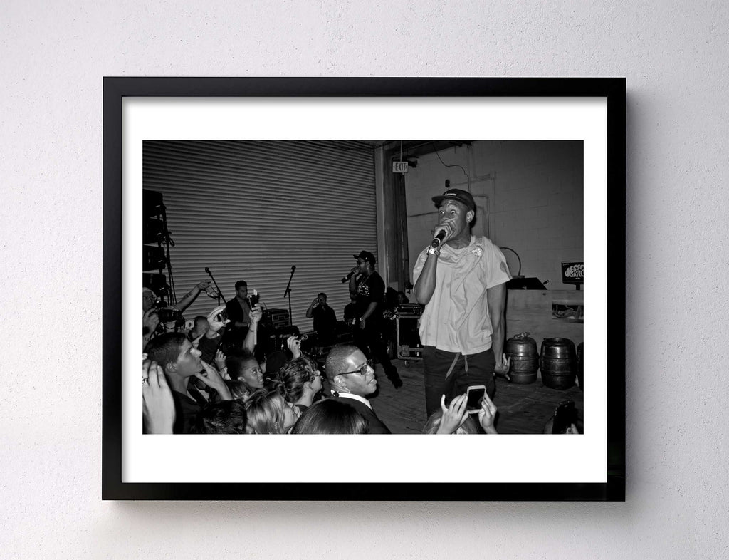 Tyler the Creator II - Alexander Wang Party - Pier 40 - NYC 2011
