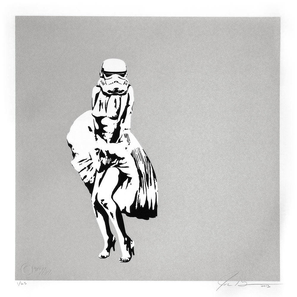 Marilyn Trooper - Silver