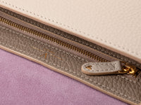 Close up of Ana Crossbody in Crema