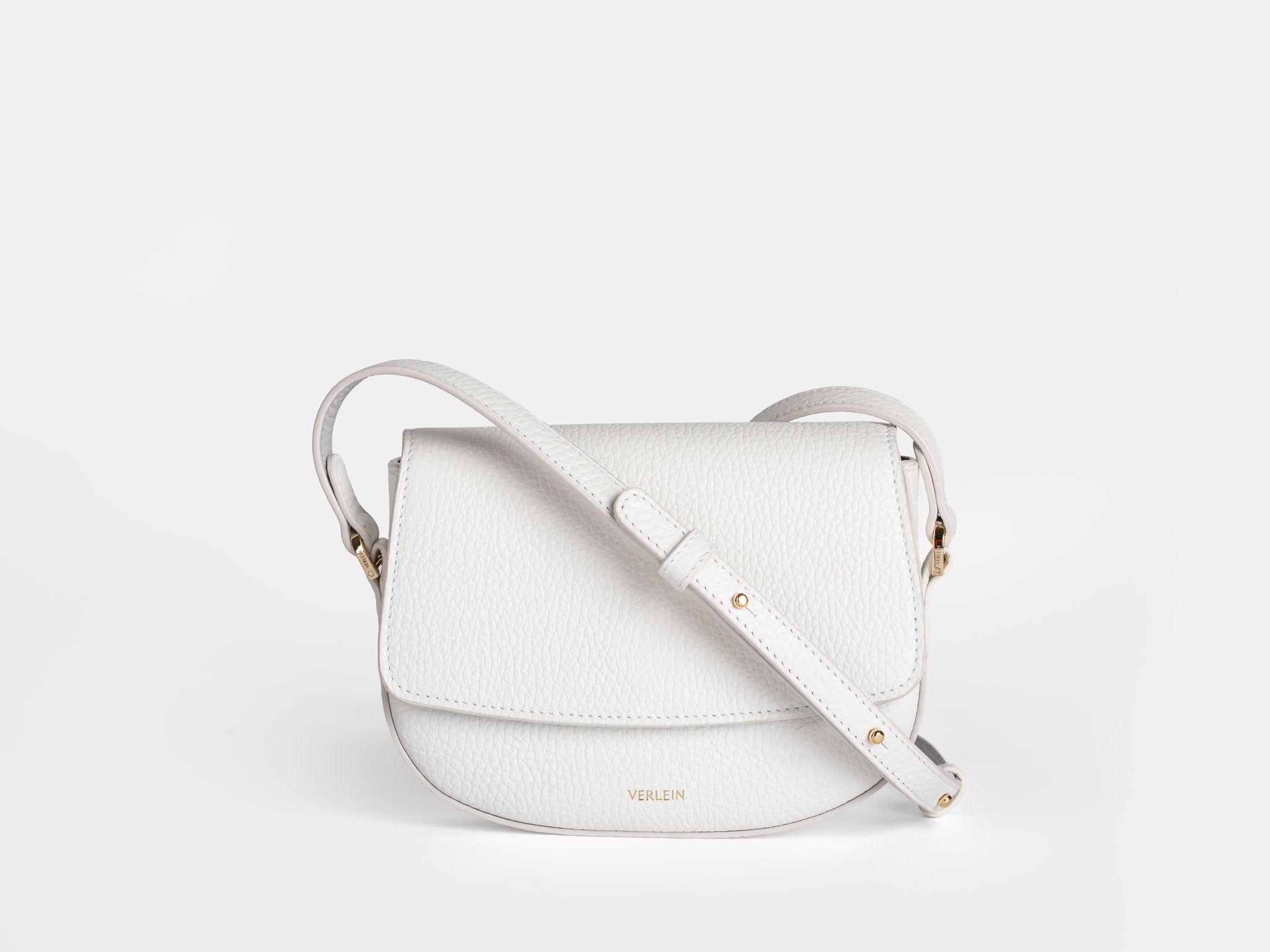 Pure White | Mini-Ana Crossbody | Verlein