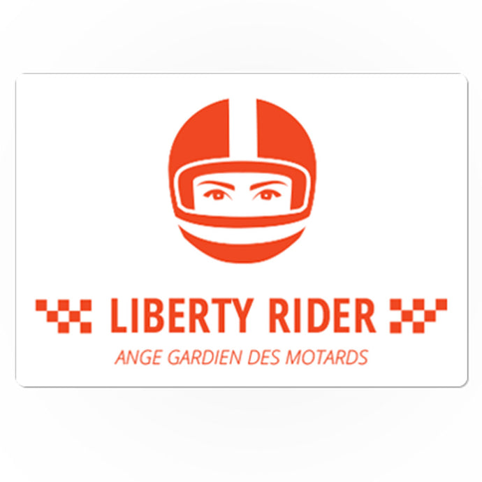 Sticker Ange gardien des motards