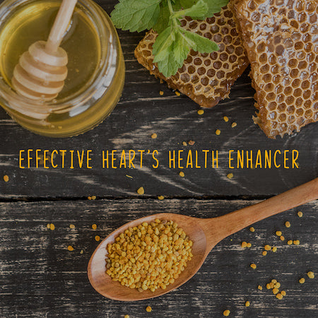Benefits of bee pollen: best source of protein. May fight against allergies, asthma, insomnia.