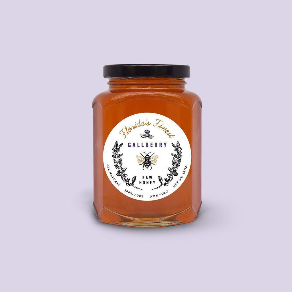 As Tupelo raw organic honey the Gallberry honey has similar health benefitting features. Low on glycemic index, may be used in small amounts for diabetic. Save the Bees!