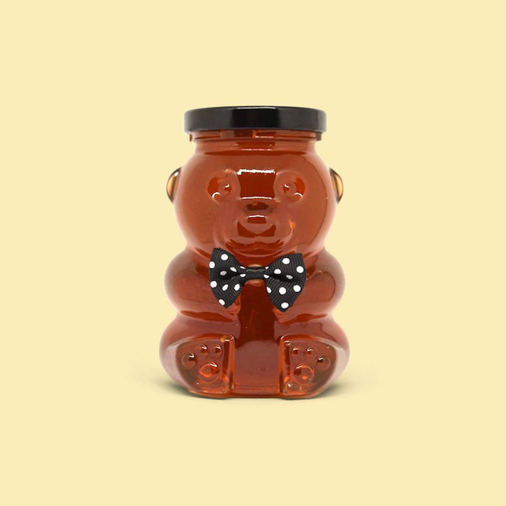 Orange Blossom Raw Honey Bear - Florida's Finest Raw Honey