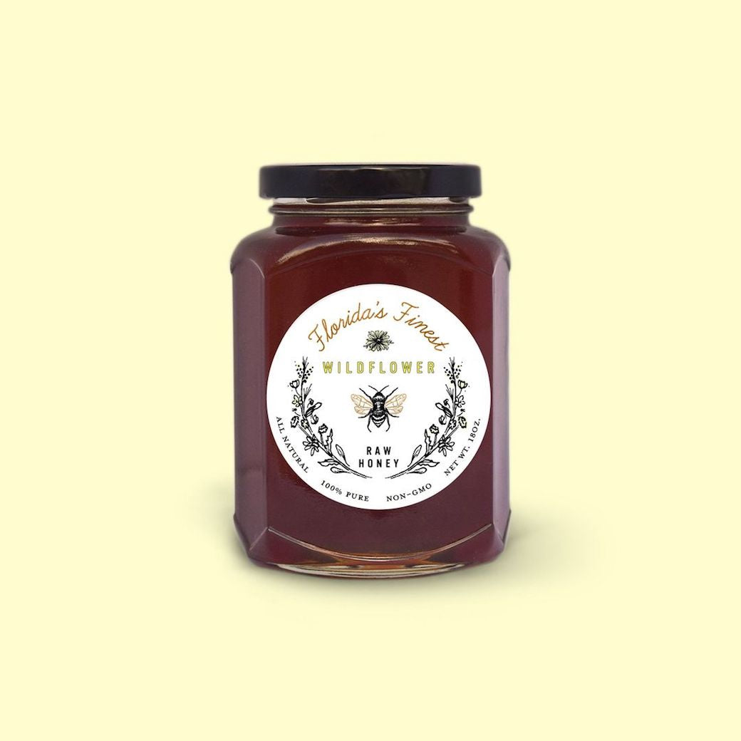 Shield your immune system with the sweetness of raw wildflower honey. 1-2 teaspoons taken daily with help fight against allergies and boost your immune system to fight colds and viruses.
