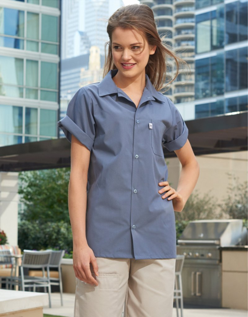 Uncommon Threads Chambray Classic Utility Shirt