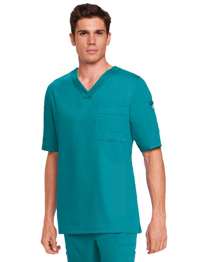 Grey's Anatomy Mens 3-Pocket Scrub Top