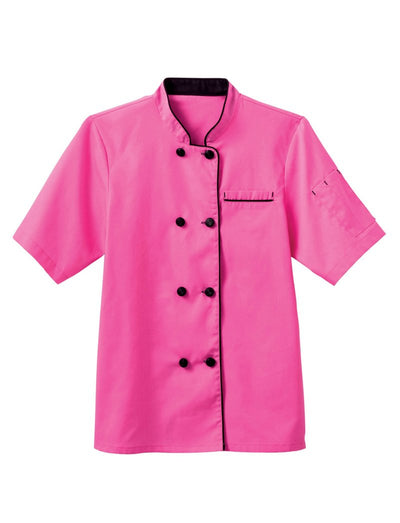 Five Star Chef Apparel Ladies Short Sleeve Executive Coat