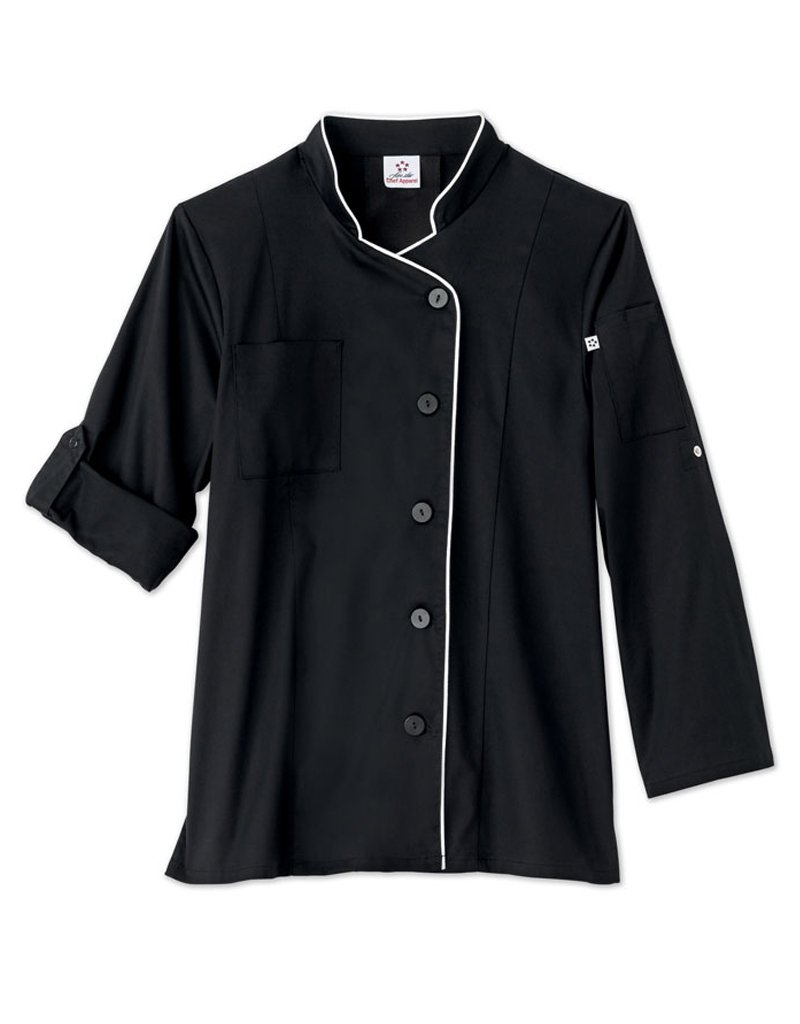 Five Star Chef Apparel Ladies Stretch Executive Chef Coat