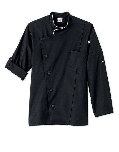 Five Star Chef Apparel Mens Stretch Executive Chef Coat