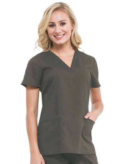 Healing Hands Purple Label Amanda Scrub Top