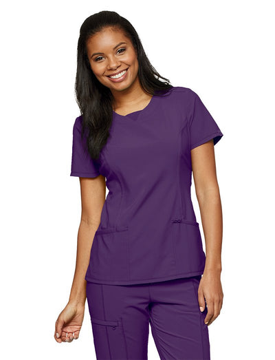 Cherokee Infinity Antimicrobial Round Neck Scrub Top