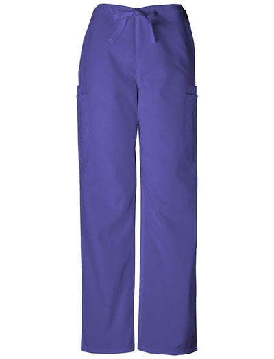 Cherokee Workwear Originals Mens Drawstring Cargo Scrub Pant
