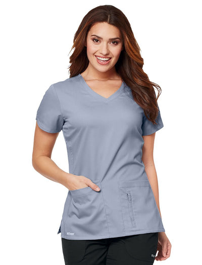 Grey's Anatomy Active 4-Pocket V-Neck Scrub Top