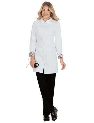 Koi Rebecca Button Front Lab Coat