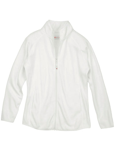White Cross Polar Fleece Zip Jacket